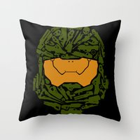 infinity Throw Pillows featuring Infinity by Ashley Hay