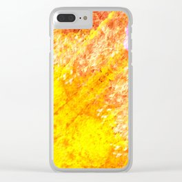 Autumn Sun Light Clear iPhone Case