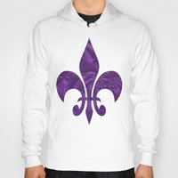 renaissance Hoodies featuring Renaissance Purple by Charma Rose