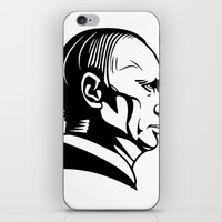 putin iPhone & iPod Skins featuring putn by b & c