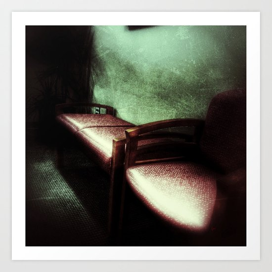 Waiting Room Series - #2 Art Print