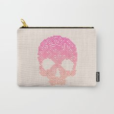 Labyrinthine Skull - Tropical Carry-All Pouch