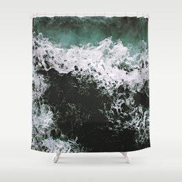 Waves #ocean Shower Curtain
