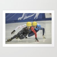 Charles Hamelin, Olympic Champion, Official Action Art Print