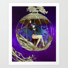 galaxy's Fortune Art Print