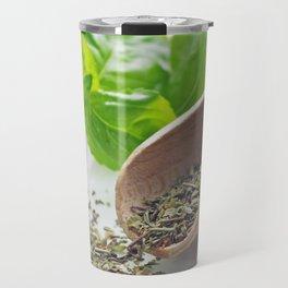 Basil herbs for kitchen Travel Mug