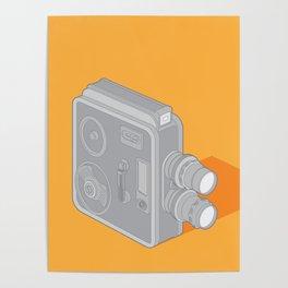 Meopta Camera Poster