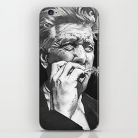 lynch iPhone & iPod Skins featuring David Lynch by erintquinn