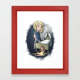 little Idas flowers Framed Art Print