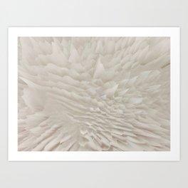 Just white Art Print