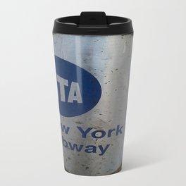 NYC MTA Trash Can Travel Mug