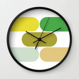 laying down Wall Clock