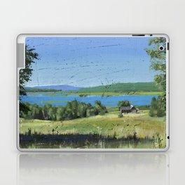 cabin - by phil art guy Laptop & iPad Skin