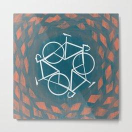 Bike-Cycle Metal Print
