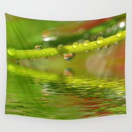 Drops 22 Wall Tapestry