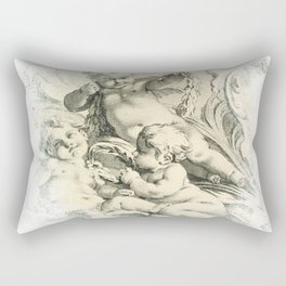 Cherub Dreams No.002 Rectangular Pillow