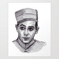pee wee Art Prints featuring Pee-Wee Herman by jamestomgray
