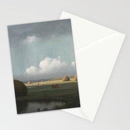 Martin Johnson Heade - Sudden Showers, Newbury Marshes Stationery Cards