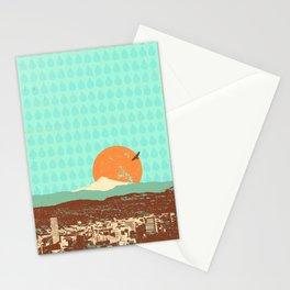 PORTLAND RAIN Stationery Cards