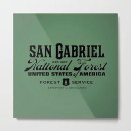 San Gabriel National Forest Metal Print