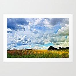 Summer time! Bavaria/Germany Art Print