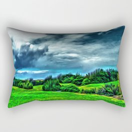 Marine Gardens Rectangular Pillow