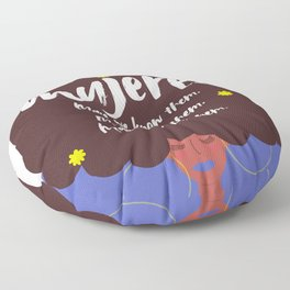 Mujeres Floor Pillow
