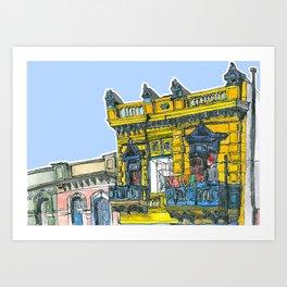 La Boca, Buenos Aires Art Print