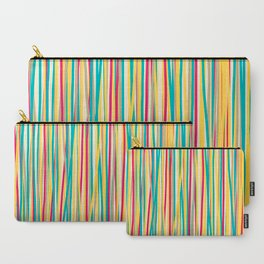 Colored Lines #6 Carry-All Pouch