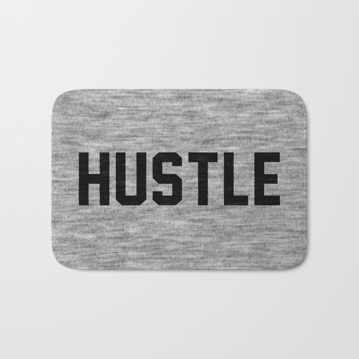 Hustle - light version Bath Mat