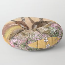 Got Time For A Chat ? Floor Pillow