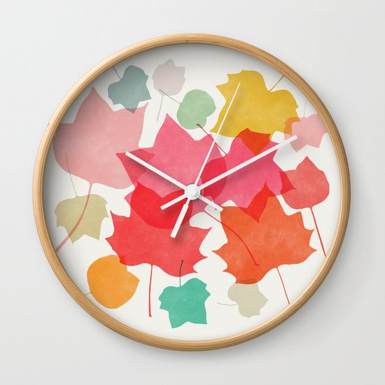 tulipifera 1 Wall Clock