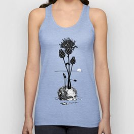 A visual Metaphor for the Philosophical idea of Hope. Unisex Tank Top