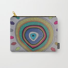 Evil Eye - palm Carry-All Pouch