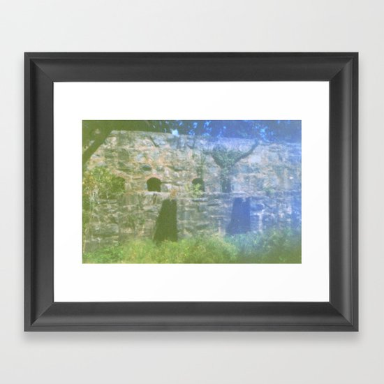Pinhole 1 Framed Art Print