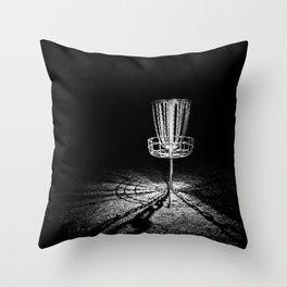 Disc Golf Chains Throw Pillow