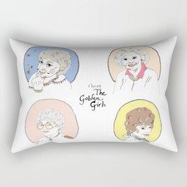 I Heart the Golden Girls Print Rectangular Pillow