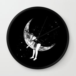 Moon Lover Wall Clock