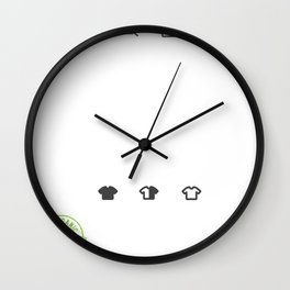 Anti-Racist Human Beings Colors may Vary Wall Clock