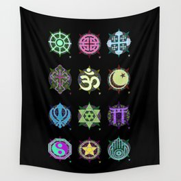 World Religions -- Group Wall Tapestry
