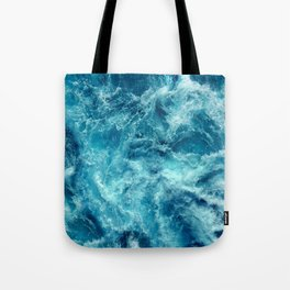 Ocean is shaking Tote Bag
