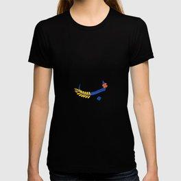 monogram arabic letter baa T-shirt