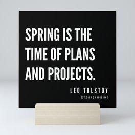 11  | Leo Tolstoy Quotes | 190608 Mini Art Print