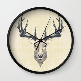 Marchelious-RL Deer Wall Clock