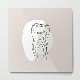 Tooth Metal Print
