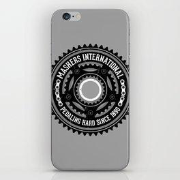 Mashers International (light grey) iPhone Skin