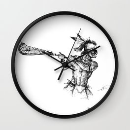 The Founder (The Art of Lax™) Wall Clock