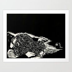 Poisoned Slumber Art Print