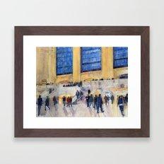 Grand Central Station, NYC Framed Art Print