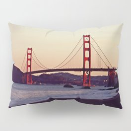 Dawn over the Golden Gates Pillow Sham